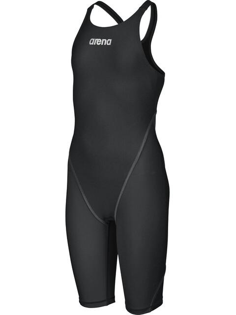 arena Powerskin St 2.0 Short Leg Open Full Body Suit Junior black